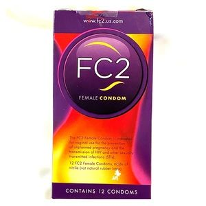 Female Condom FC2 Unopened Brand New contain 12pcs